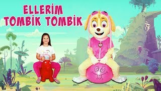 Ceylin & Skye - Ellerim Tombik Tombik Nursery Rhyme & Super Simple Educational Songs For Babies Kids