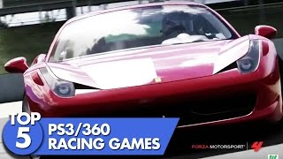 Top 5 PS3 & Xbox 360 Racing Games