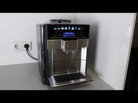 Siemens EQ.6 plus Kaffeevollautomat Wasserfilter wechseln / einsetzen