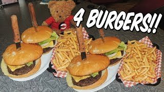 Indianapolis, Indiana Man vs Food Challenges!!