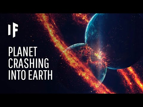 What If the Earth Collided With Another Planet?