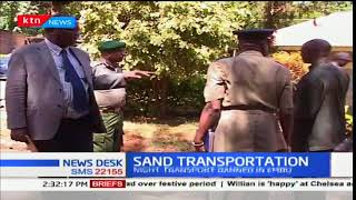 Embu County bans transportation of sand in the night