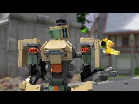 Vidéo LEGO Overwatch 75974 : Bastion