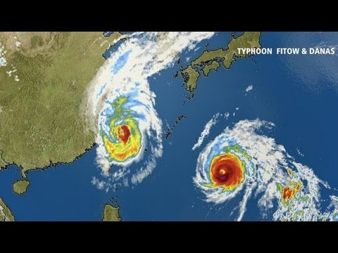 Typhoon vs. Hurricanes