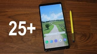 25+ Amazing Tips to Customize your Samsung Galaxy Note 9