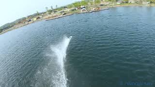[WOORISKY] On the water FPV freestyle/GoPro HERO7/FPV Drone