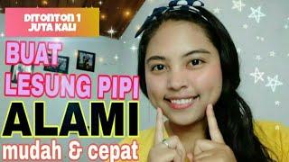 BUAT LESUNG PIPI ALAMI!! MUDAH DAN CEPAT|| DESY CAHYANI LARI