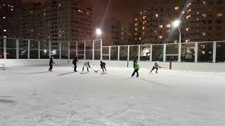 Дворовый турнир по хоккею, январь2017