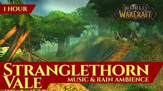 Vanilla Stranglethorn Vale - Music & Rain Ambience (1 hour, 4K, World of Warcraft Classic)