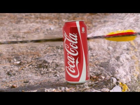 COCA COLA vs ARCO in SLOW MOTION! (3000 FPS)