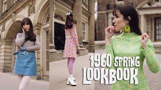 1960's Inspired Spring Lookbook! | Carolina Pinglo