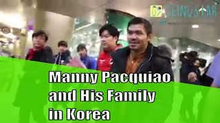 Manny Pacquiao and His family visit South Korea Trip - Seinustar Rent Winter Clothes!