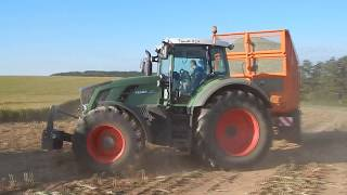 NewHolland FR600 and JohnDeere ,Fendt  Corn Silage 2017