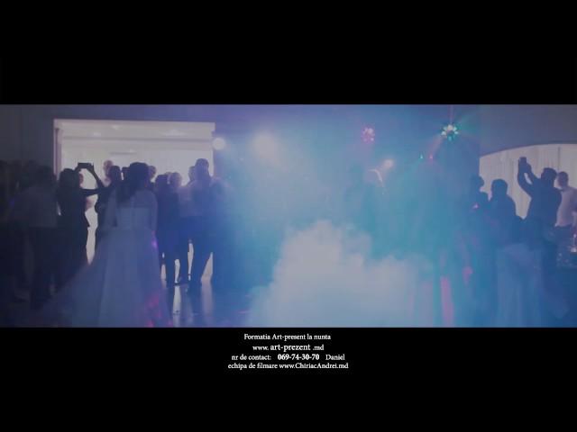 Formatia Art-Prezent Show Lumini La Primul Dans al Mirilor