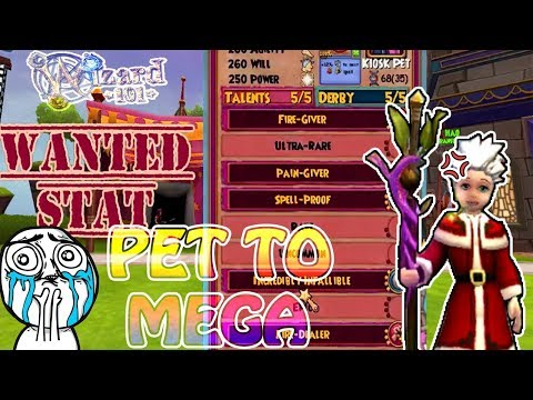 Wizard101: Pet to Mega | Can't believe what I got