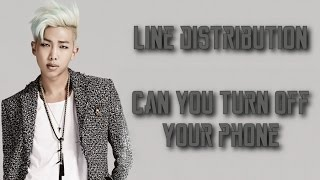BTS - Can You Turn Off Your Phone (Line Distribution)