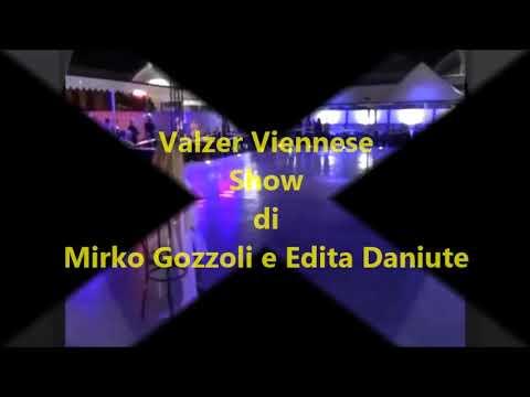 Valzer Viennese Mirko Gozzoli e Edita Daniute. Serata Danzante di Fiore Menzione e Vladlena Aptukova