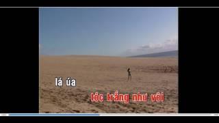 Cát bụi Tình xa  - Trịnh Công Sơn -  KARAOKE DVD