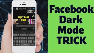 [Easy TRICK] How to Enable Facebook Dark Mode Quickly | TechinPost