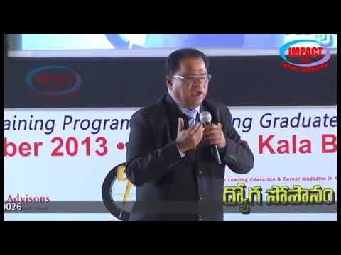 Either Find A Way OR Make A Way | Venugopal Lakshmipuram |  TELUGU IMPACT Karimnagar 2014