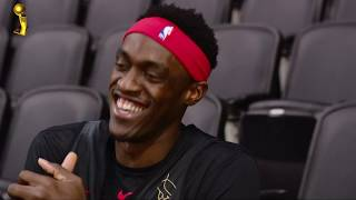 DeAndre Ayton Interviews Pascal Siakam Ahead of Game 1 of the NBA Finals!