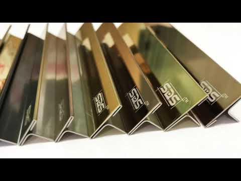 Stainless Steel 304 Flooring Tiles T Profiles