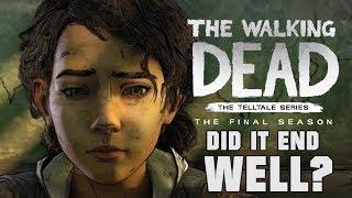 Telltale's Walking Dead Ending Was A Masterpiece