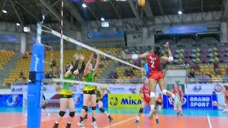 Too much POWER coming from Alyssa Valdez! | 6th Asian Women's Volleyball Cup 2018