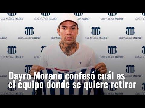 Dayro Moreno confeso cual es el equipo donde se quiere retirar