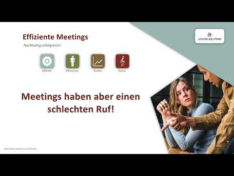 Effiziente Meetings