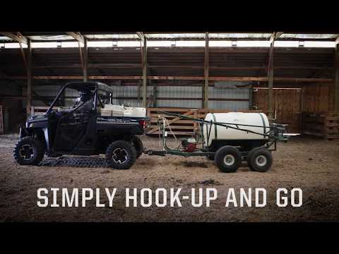 2020 Polaris RANGER CREW XP 1000 Premium + Ride Command Package in Garden City, Kansas - Video 2
