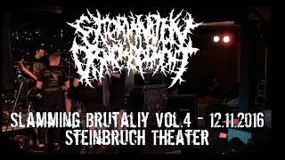 Extermination Dismemberment Live @ Slamming Brutality Vol.4 Steinbruch Theater 12.11.2016 Dani Zed
