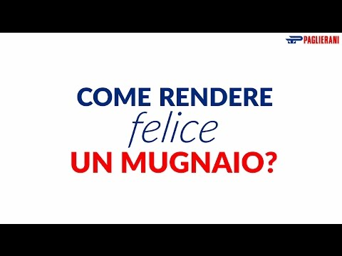 Paglierani video speech - settore molitorio