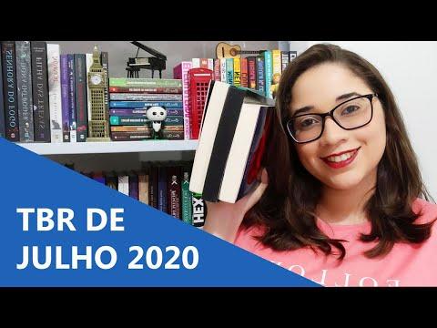 TBR DE JULHO 2020 ?   Biblioteca da Rô