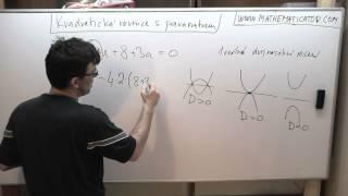 Kvadratická rovnice s parametrem