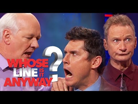 Seznamka: Keanu Reeves v roli Hulka - Whose Line Is It Anyway?