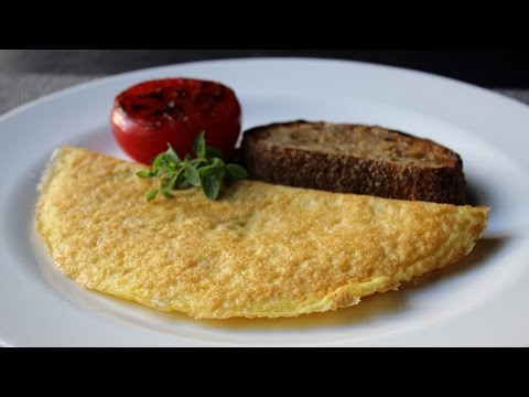 Parmelet – Crisp Parmesan Omelet – Easy Cheesy Inside-Out Omelet Technique