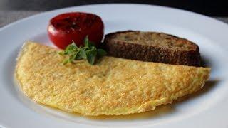 Parmelet - Crisp Parmesan Omelet - Easy Cheesy Inside-Out Omelet Technique