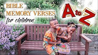 4 YEARS OLD TWINS | RECITE BIBLE MEMORY VERSES | A TO Z SCRIPTURE IDEAS FOR KIDS