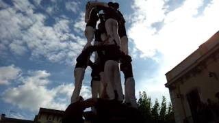 preview picture of video '4de7a Human Towers - Jove de Barcelona - Mollet del Vallès'