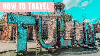 HOW TO TRAVEL TULUM l HOW TO GET TO TULUM FROM THE CANCUN AIRPORT // TULUM MEXICO VLOG