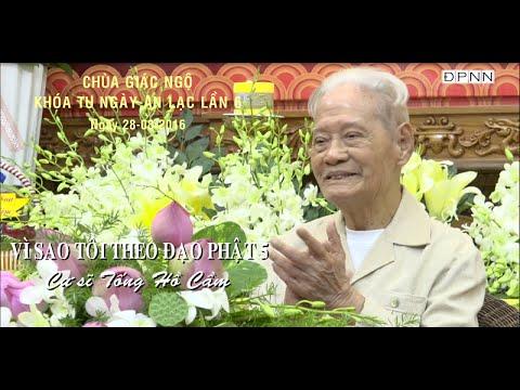 Vì Sao Tôi Theo Đạo Phật 5: Cư sĩ Tống Hồ Cầm