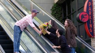 Andy & Jason's Awkward Encounters While Handing Out Flowers - Video Youtube