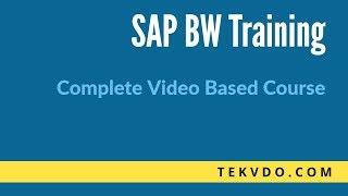 SAP BW Process Chains - Complete SAP BW Training