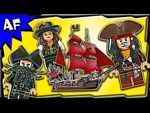 Vidéo LEGO Pirates des Caraïbes 4195 : La revanche du Queen Anne