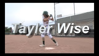 2020 Tayler Wise Speedy Slapper & Outfield Softball Skills Video