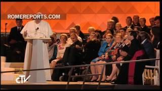 Fiesta de las familias y víspera de oración con el Papa Francisco