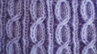 Knitting Slipped St Cable Tutorial and Complimentary Baby Hat Pattern
