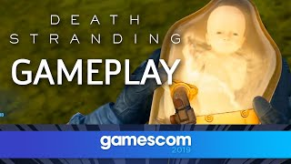 Death Stranding - Official Gameplay | Gamescom 2019