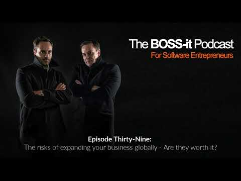 Episode 39: The risks of expanding your business globally - Are they worth it?